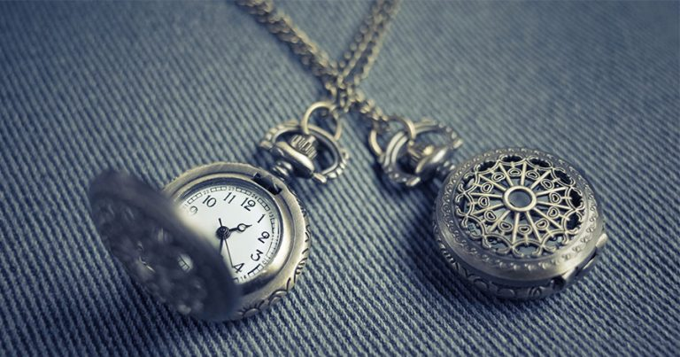 Two watches on chains