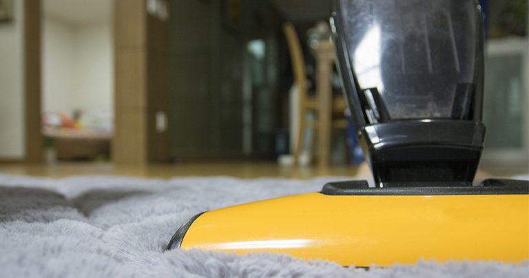 Vacuum on a carpet