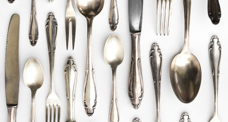 A lot of household items allow you to efficiently clean silverware.