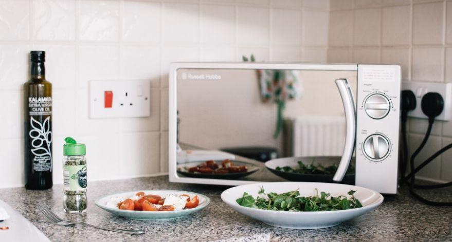 A microwave.